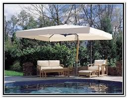 Patio Table Parasol by Patio Ideas Large Cantilever Patio Umbrella With Rattan Patio