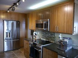 modern kitchen look queen anne seattle modern kitchen remodel with bamboo cabinetry