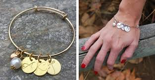 monogram charm personalized monogram charm bracelets only 12 99 reg 25 jinxy