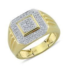 mens gold diamond rings amir diamond ring studded rings