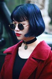 grow hair bob coloring best 25 blue bob ideas on pinterest short hair colour short
