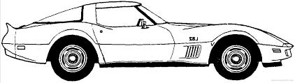 car blueprints chevrolet corvette c convertible cabriolet