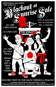 the limited black friday november 2013 redscroll records