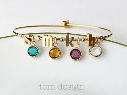 mothers day birthstone bracelet build your own birthstone bracelet personalized s day