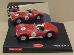 maserati a6gcs carrera maserati a6 gcs mille miglia 1 32 scale slot car 25434 ebay