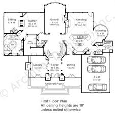 clarendon court mansion house plans luxury house plans