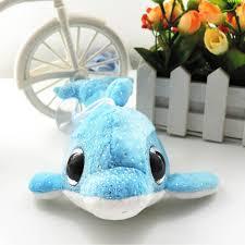 2017 random color 6 u0027 u0027 whales small plush pendant stuffed big eyes
