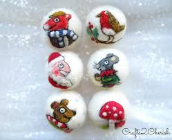 10 prettiest felt ornaments deals wee lil bits