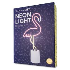 flamingo neon light sunnylife flamingo neon light large