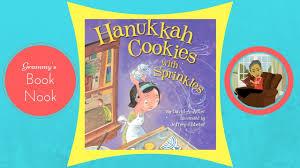 hanukkah book hanukkah cookies with sprinkles children s books read aloud