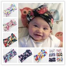 infant headbands mix baby headbands new style print knitted bow headband baby