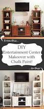 Diy Home Center by Diy Entertainment Center Makeover With Chalk Paint