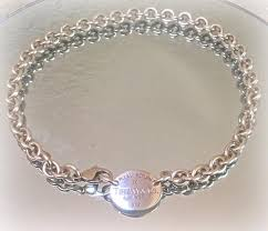 sterling silver choker necklace images Tiffany co sterling silver return to oval tag choker necklace jpg