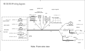 honda wave 125 wiring system diagram 70 fine cdi ignition