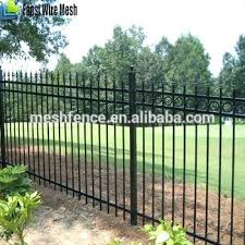 wrought iron garden border fence financeintl club
