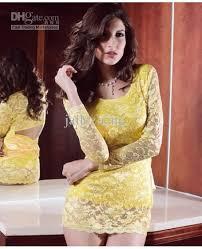 2014 lingerie yellow babydoll night wear dress pajamas