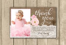 baptism thank you wording thank you christening cards wording christening thank you card