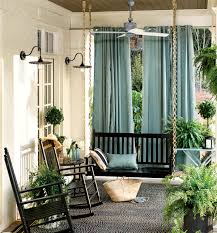 Rocking Chairs On Porch Curtain Outdoor Curtains Cape Town Singular Spaces Porch Privacy