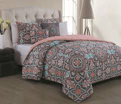 Mint Green Comforter Full Bedroom Interesting Decorative Bedding With Comfortable Coral