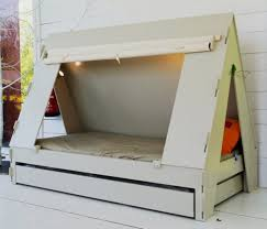 the bed tent living room kids bed that shaped like a tent lit tente home