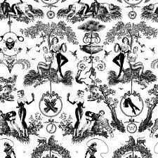 Black And White Toile Bedding Bedding And Decor Pinup Style By Sin In Linen