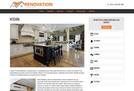 home renovation websites renovation wordpress theme template for the renovation industry