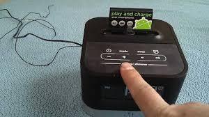 android alarm clock ihome ic50 android clock radio dock