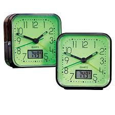 New Jersey Travel Alarm Clocks images Glow in the dark clock jpg