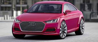 pink audi want a small audi coupe with more doors the tt sportback concept