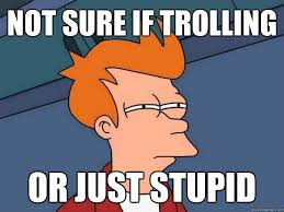 Facebook Troll Meme - image 131351 futurama fry not sure if know your meme