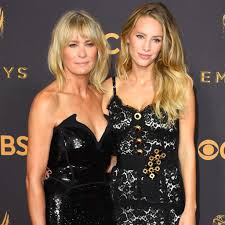 who was robin wright s date at the 2017 emmys popsugar