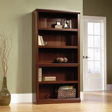 cabinet simple interior storage sauder bookcase with wood