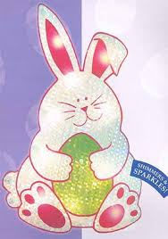 bunny decorations northlight lighted shimmering easter bunny window