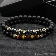 men bracelet images Brand new fashion pave cz men bracelet 8mm matte beads with jpg
