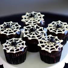 Halloween Cakes Easy To Make by Spider Cupcakes Simply Sated