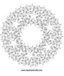 7 clip art images mandala coloring