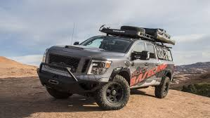 nissan titan off road nissan titan xd pro 4x project basecamp review gallery top speed