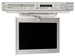 Kitchen Radios Under Cabinet Under The Counter Tv For Kitchen With Mount U0026 Dvd