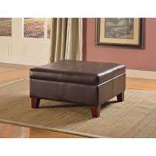wonderful faux leather ottoman u2013 interiorvues