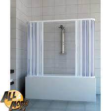 chiusura vasca da bagno all more it box cabina doccia tre lati per vasca in pvc con
