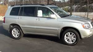 toyota highlander sales for sale 2006 toyota highlander hybrid 1 owner stk 20613a