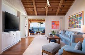 Hawaiian Area Rugs by Inside An Oceanfront Hawaiian Home With Natural Accents House