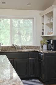 graphite chalk paint kitchen cabinets painted cabinets a review of our cabinets painted with