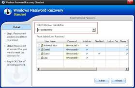 resetting windows password without disk smartkey windows password recovery standard administrator password