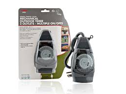 Outdoor Timer For Lights by Christmas Light Timer Outdoor Timers For Christmas Lights