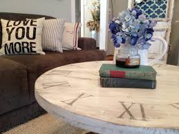 Diy Coffee Tables by Round And Round We Go The Story Of My Diy Coffee Table