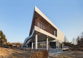 arch lab mokyeonri kinetic wood museum in south korea by soft architectural lab
