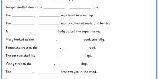 adjectives in sentences adjective sentences classroom secrets