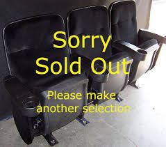 Theater Chairs For Sale Wholesale Theater Seating Super Group Black Fully Refurbished