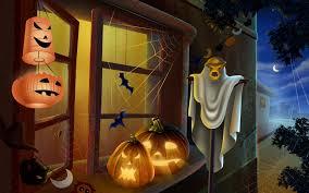 3d halloween wallpaper background